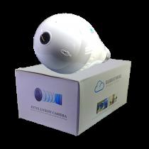 دوربین مداربسته طرح لامپ v380 دو مگاپیکسل 1080p وای فای رمخور