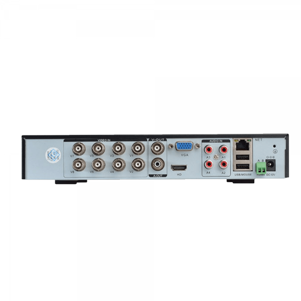 دستگاه dvr 8 کانال دوربین مداربسته 5 مگاپیکسل ahd
