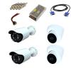 لوازم جانبی و دوربین مداربسته پک 1.3 مگاپیکسل ahd