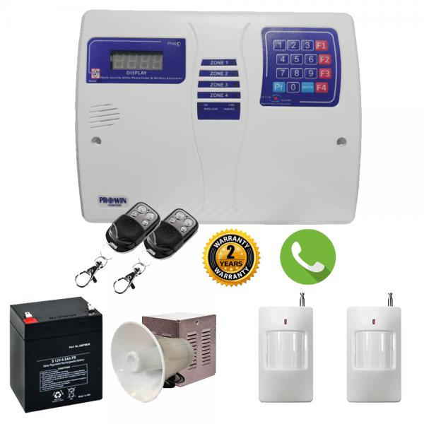 پکیج کامل و اماده نصب تلفن کننده پراوین safe