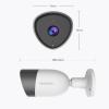 ابعاد دوربین مداربسته تحت شبکه بیسیم blurams Outdoor Lite S21