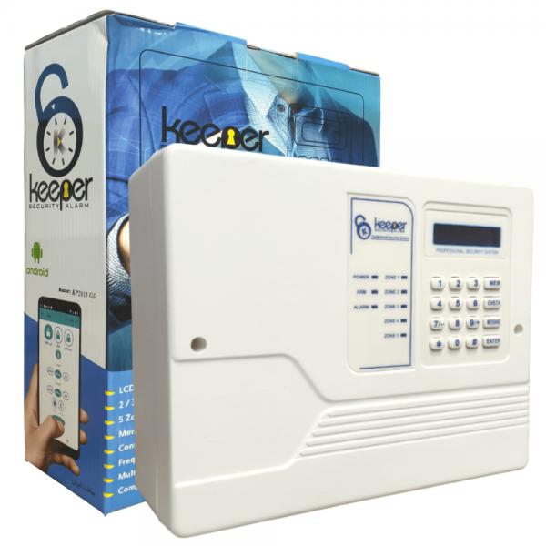 دزدگیر اماکن برند کیپر سیم کارت و تلفن همزمان مدل keeper kp2015gs
