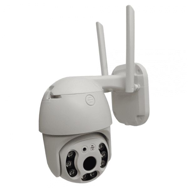دوربین مداربسته هوشمند وایرلس ضدآب دید در شب رنگی v380 pro