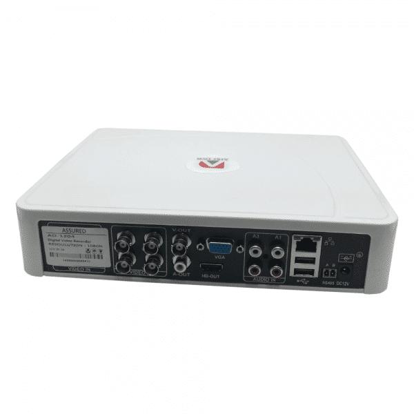 دستگاه 4 کانال 1080n مدل DVR AHD ad-1204